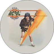 "AC/DC - High Voltage - 1"" Button"