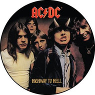 "AC/DC - Highway To Hell - 1"" Button"