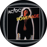 "AC/DC - Powerage - 1"" Button"
