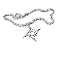 Metallica - Ninja Star - Necklace