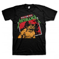 Metallica | Kill Em All | Tilted Frame | Mens T-shirt |