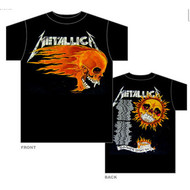Metallica - Flaming Sun - Mens - Tshirt