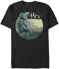 Star Wars Rogue One - Troop Round - Mens T-shirt