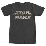 Star Wars - The Force Awakens - Force Lawgo - Mens T-shirt