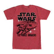 Star Wars - The Force Awakens - Twice - Mens T-shirt
