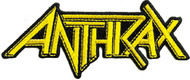 Anthrax - Logo - Patch