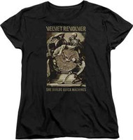 Velvet Revolver - Quick Machines - Women - T-shirt