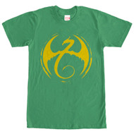 Iron Fist - Iron Fist Logo Kelly - Mens - T-shirt