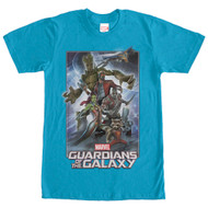 Guardians of the Galaxy - Galaxy Pose Up - Mens T-shirt