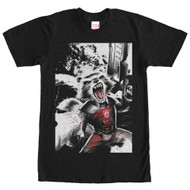 Guardians of the Galaxy - Rocket Explosion - Mens T-shirt
