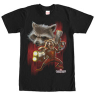 Guardians of the Galaxy - Twisted Rocket - Mens T-shirt