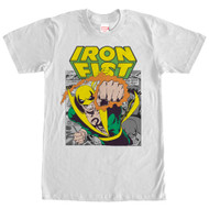 Iron Fist - Iron Punch - Mens T-shirt
