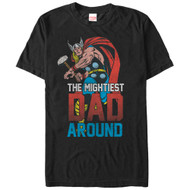 Thor - Mightiest Dad - Mens T-shirt