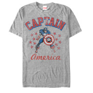 Captain America - The Old Captain - Mens T-shirt