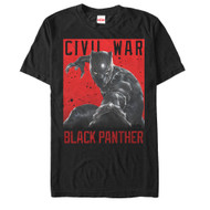 Black Panther - Cat Attack - Mens T-shirt
