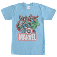 Marvel - The Heroes - Mens T-shirt