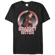 Scarlet Witch - Scarlet Circles - Mens T-shirt