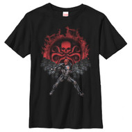Red Skull - Hydra Recruits - Youth T-shirt