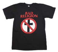 Bad Religion - Distressed Crossbuster - Mens T-shirt
