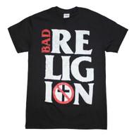 Bad Religion - Stacked Logo - Mens T-shirt