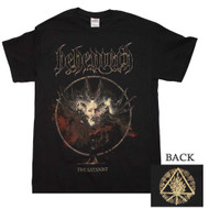 Behemoth - The Satanist Cover Art - Mens T-shirt
