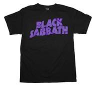 Black Sabbath - Logo - Mens T-shirt