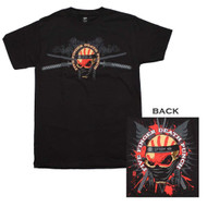 Five Finger Death Punch - Samauri - Mens - T-shirt