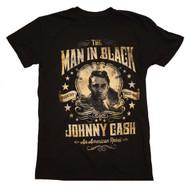 Johnny Cash - Portrait - Mens - T-shirt