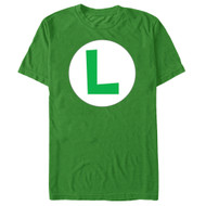 Nintendo - Luigi Icon - Men's T-shirt