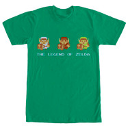 Nintendo - Links Armor - Men's T-shirt