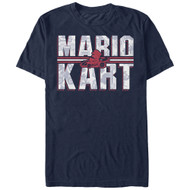 Nintendo - Kart Text - Men's T-shirt