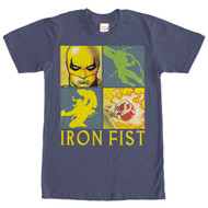 Iron Fist - Square - Mens - T-shirt