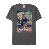 Guardians of the Galaxy Vol 2 | Guardians Wall | Mens T-shirt