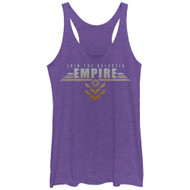 Star Wars Rogue One | Join The Galactic Empire | Purple  | Tank Top |