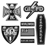 Black Label Society - Front Patch Set