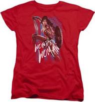 Wonder Woman | The Movie | American Hero | Womans Tee