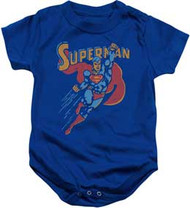 Superman | Life Like Action | Infant Snapsuit