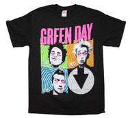 Green Day | Spiral Four | Mens T-shirt