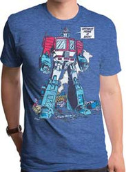 Transformers | Optimus Prime Is Back | Mens T-shirt