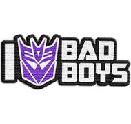 Transformers | I Decepticon Bad Boys | Patch
