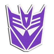 Transformers | Decepticon Logo | Patch