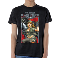 Five Finger Death Punch | Patriotic Lady | Mens T-shirt