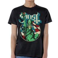Ghost | Blue Statue | Mens T-shirt
