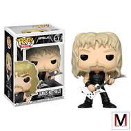 Metallica | James Hetfield | Pop! Vinyl Figure | #57