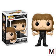 Metallica | Lars Ulrich | Pop! Vinyl Figure | #58