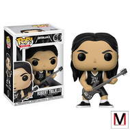 Metallica | Robert Trujillo | Pop! Vinyl Figure | #60