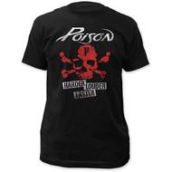 Poison   Harder Faster Louder   Men's T-shirt