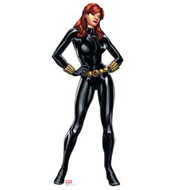 Black Widow - Avengers Assemble - Cardboard Standup
