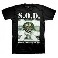 Stormtroopers of Death (S.O.D.) | Speak English or Die | Men's T-shirt