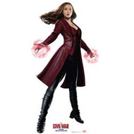 Scarlet Witch - Captain America Civil War - Cardboard Standup